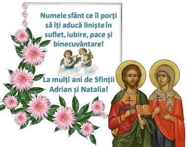 Sărbătoare 26 august 2021: Sf. Adrian şi Natalia. Mesaje, urări şi felicitări cu La...