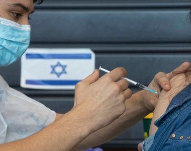 Nou record de infectări COVID-19 în Israel, țara care se protejează masiv cu doza nr. 3...