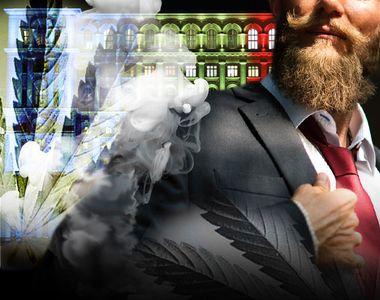 VIDEO | Cannabis, găsit în Parlament. Un membru din partidul AUR avea asupra sa un plic...