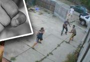 VIDEO | Un pădurar din Dâmbovița a fost snopit în bătaie de mai mulți hoți de lemne care au intrat peste el în curte