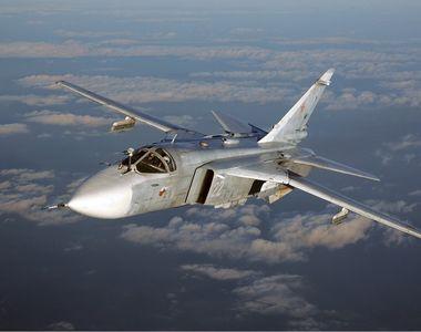 Avion militar rusesc, prăbușit la scurt timp după decolare