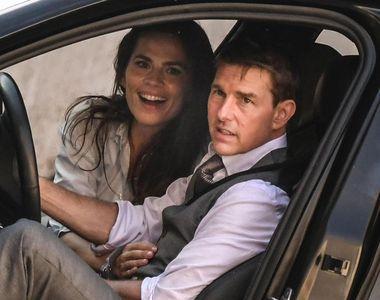"""Tom Cruise a fost furat în timpul filmărilor la """"Misiune Imposibilă 7"""""""