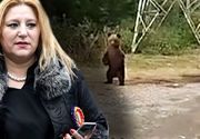 VIDEO   Diana Șoșoacă, gest teribilist cu urșii pe Transfăgărășan