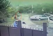 VIDEO  Un pădurar și-a amenințat vecinii care parcaseră prost cu o pușcă de vânătoare și chiar a tras câteva focuri în aer