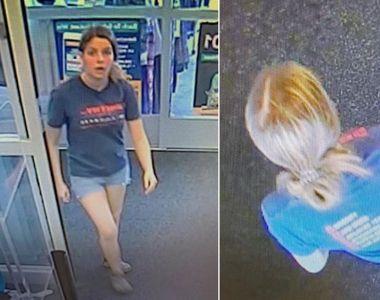 O femeie din SUA este căutată de poliție după ce a aruncat un rucsac. Ce se afla în...