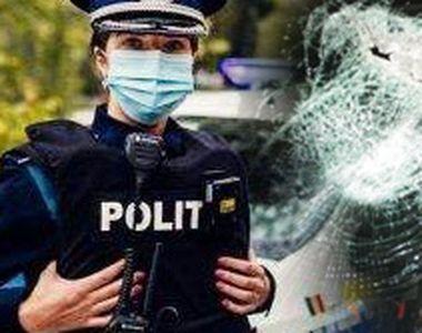 FOTO   Polițiști, atacați pe stradă cu poșete și pietre. De la ce a pornit totul