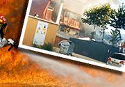 VIDEO | Incendiu devastator la Mamaia, mai multe terase în flăcări