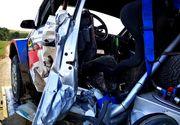 VIDEO  Doliu în Automobilismul Sportiv. Pilotul Adrian Răspopa a murit după ce a intrat cu mașina într-un cap de pod