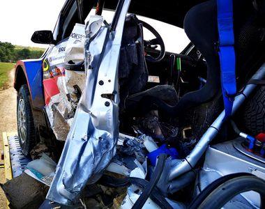 VIDEO| Doliu în Automobilismul Sportiv. Pilotul Adrian Răspopa a murit după ce a intrat...