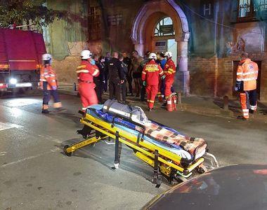 Incendiu la un spital din Arad. Mai multe persoane au fost evacuate de urgență