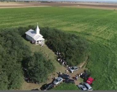 VIDEO | O biserică din Satu Mare își deschide porțile o singură dată pe an! Micuța...