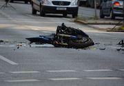 VIDEO | Un motociclist de 23 de ani a murit după ce a încercat să evite o căruță