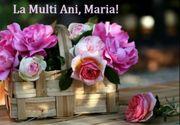 Mesaje de Sf. Maria: La mulți ani de ziua numelui!