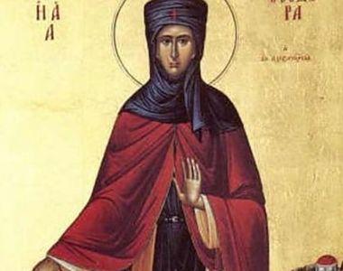 Calendar ortodox 11 septembrie 2021: Ce sărbătoare este sâmbătă?