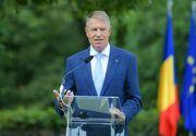 Preşedintele Klaus Iohannis a participat la ceremonia de dezvelire a statuii baronului Samuel von Brukenthal în Sibiu