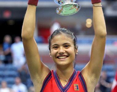 Cine este Emma Răducanu, noua campioană la US Open 2021