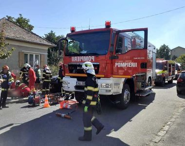 Un accident între o maşină şi o motocicletă  a avut loc la Cluj. O persoană a decedat