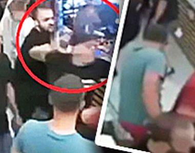 VIDEO | Bătaie la Dej, după un meci de fotbal. Scene șocante într-un magazin cu...