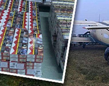 VIDEO | Un avion folosit de contrabandiști, ce avea destinația România, a fost capturat...