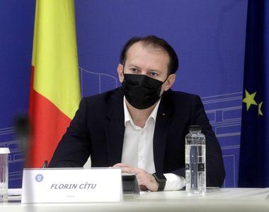 """Guvernul ia în calcul plafonarea prețului la gaze. Florin Cîțu: """"Nu vreau să fie o..."""