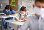 O școală din București intră parțial în sistem online
