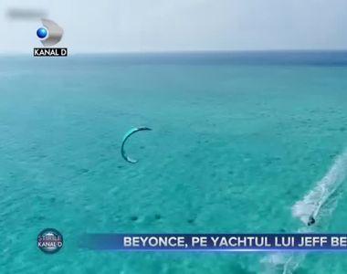 Beyonce, pe yachtul lui Jeff Bezos