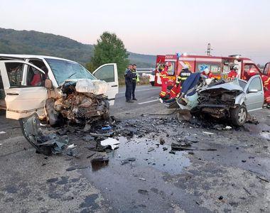 Șocant: doi șoferi au murit pe loc într-un accident în Cluj
