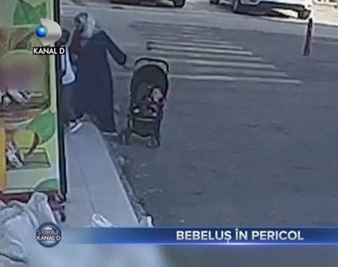 Bebelus in pericol