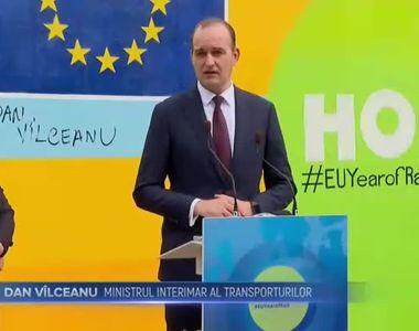 Trenul european s-a incurcat in Romania