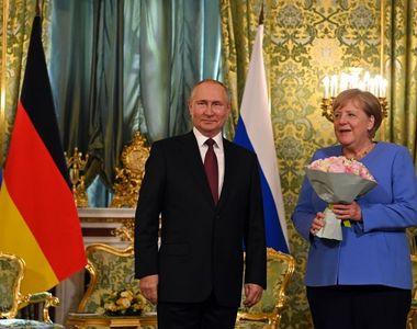 Angela Merkel cere eliberarea lui Aleksei Navalnîi. Ce răspuns i-a dat Vladimir Putin