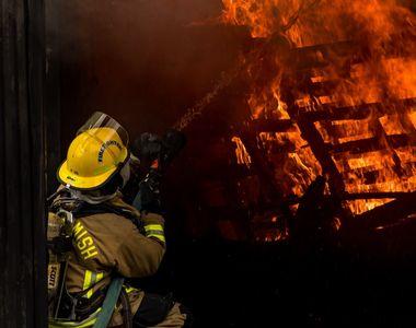 Incendiu la un hotel din Centrul Capitalei