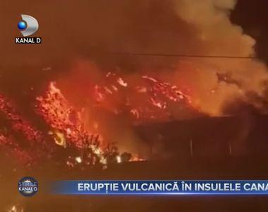 Eruptie vulcanica in Insulele Canare