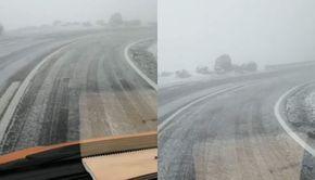 VIDEO| Vreme capricioasă în România. A nins, iar autoritățile au intervenit cu material antiderapant
