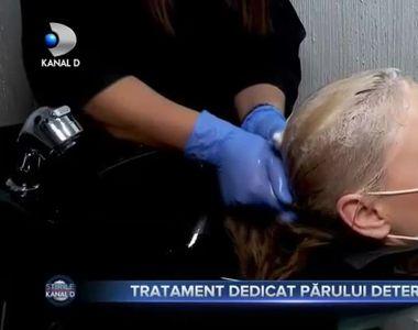 Tratament dedicat părului deteriorat