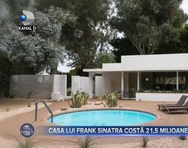 Casa lui Frank Sinatra este scoasă la vânzare