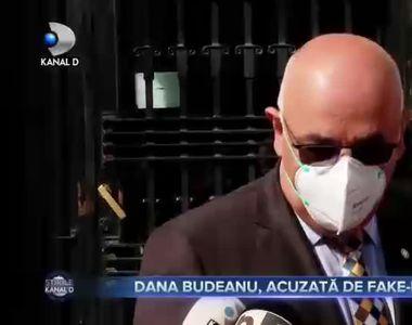 Dana Budeanu, acuzata de fake-news