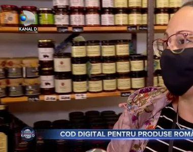 Cod digital pentru produse romanesti