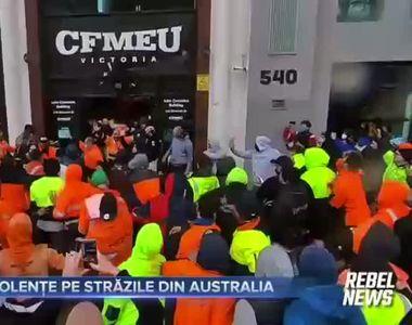Violente pe strazile din Australia