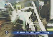 Ciocnire violentă pe DN2- 4 morți