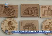 Creează gravuri minimaliste pe lemn
