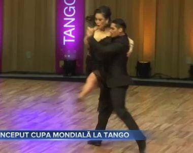 A început cupa mondială la tango