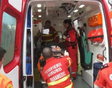 Trei persoane au fost rănite într-un accident în Roman