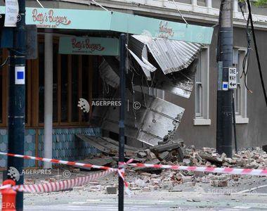 Cutremur violent de 6 grade în Australia. Mai multe clădiri au fost afectate