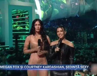 Megan Fox și Courtney Kardashian, ședință sexy
