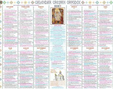 Calendar ortodox 25 septembrie 2021. Ce sărbătoare este sâmbătă?