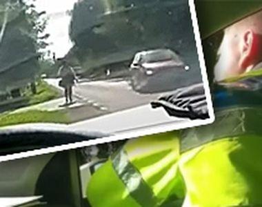 VIDEO | Doi polițiști din Covasna, cercetați disciplinar după ce au jignit o femeie...