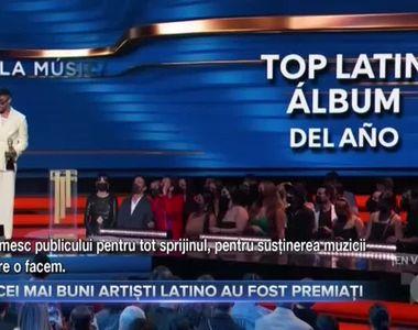 Cei mai buni artiști latino au fost premiați