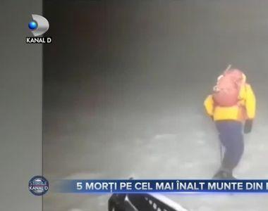 5 morți pe cel mai înalt munte din Europa