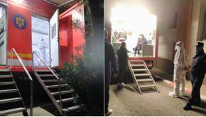 Noapte de coșmar la Spitalul de Boli Infecțioase din Iași. Ambulanțele au stat ore întregi la coadă în curtea spitalului