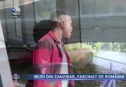 Mudi din Zanzibar, fascinat de Romania